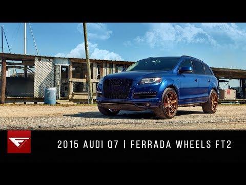 2015 Audi Q7 | Ocean Vibes  | Ferrada Wheels