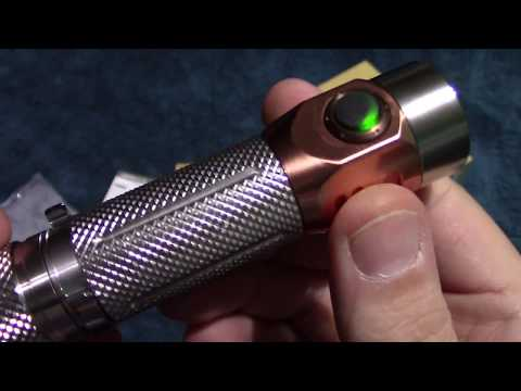 AstroLux S42S Flashlight Review!