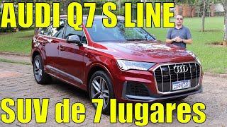 Audi Q7 S line 2021 - SUV de 7 lugares da Audi