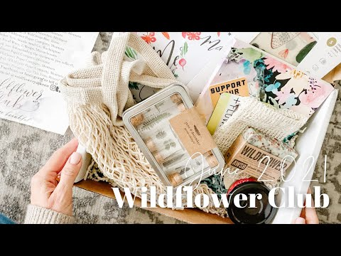 Wildflower Club Unboxing June 2021
