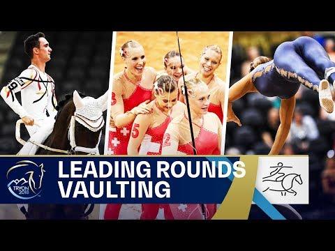 Brüsewitz' & Luschin's stunning Performances   Vaulting   FEI World Equestrian Games 2018