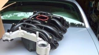 Lincoln Town Car Coolant Leak Repair - 4.6 SOHC Composite Intake Manifold