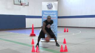 Stationary In and Out Dribble