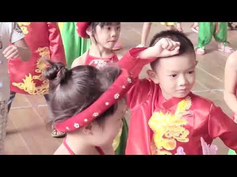 Chương trình Bé vui tết trung thu 2017 Trường Mầm non Hữu Nghị quốc tế