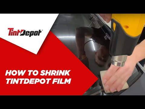 How to Shrink TintDepot Film