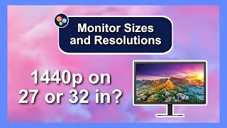 Monitor Size vs Monitor Resolution — Tech Deals
