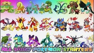 All Shiny Pokémon Starters