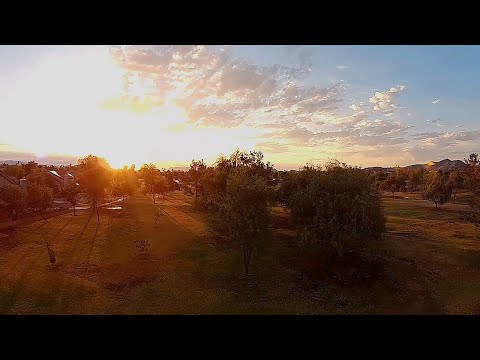 iFlight Alpha A85 HD - FPV Park Early Morning on 4s Batteries