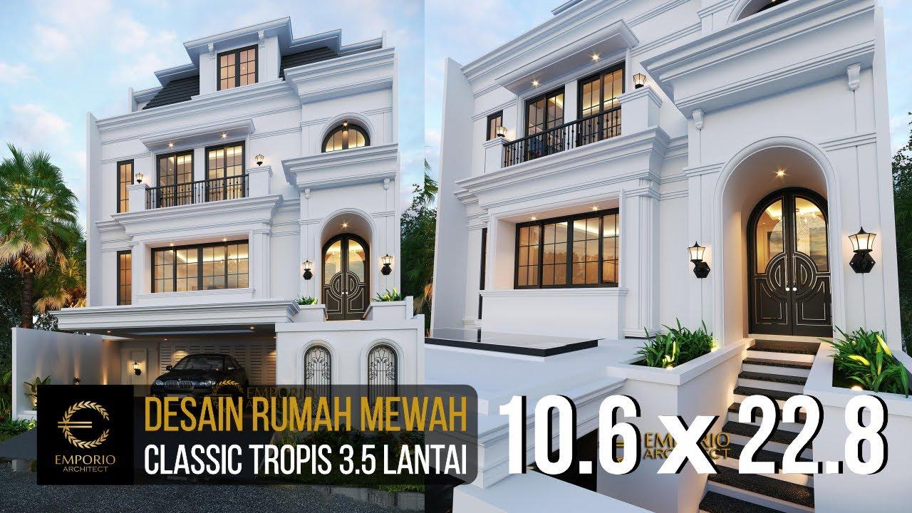 Video 3D Mrs. Tien II Classic House 3.5 Floors Design - Jakarta Selatan