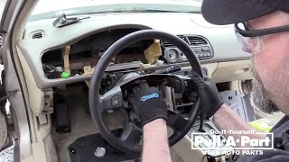 1997-2002 Honda Accord Steering Wheel Removal Guide