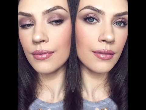 Romantic Mauve Valentines Day Look