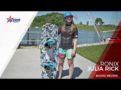 2017 Ronix Julia Rick Wakeboard Review