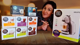 Nescafe' Dolce Gusto Mini Me Coffee Machine Review and Tutorial
