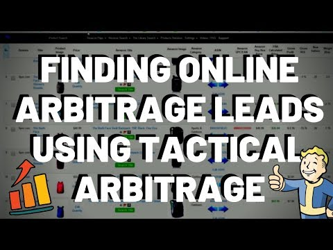 Online Arbitrage Using Tactical Arbitrage To Find OA Product Leads For Amazon FBA 2019