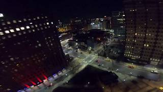 DIVING THE TALLEST BUILDING IN TOWN/NIGHT FPV