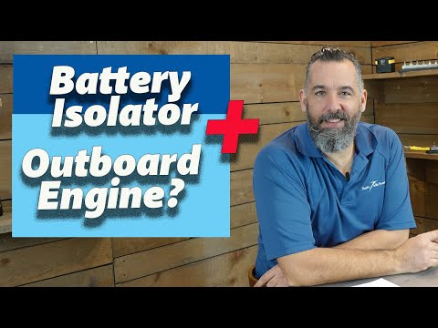 Can I Use a Battery Isolator With an Outboard Engine?