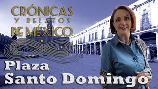 Crónicas y relatos de México - Plaza de Santo Domingo
