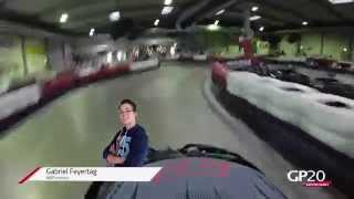 preview picture of video 'GP20 Karting Series 2015 - Onboardrunde in Kottingbrunn (Saisonrennen 1)'