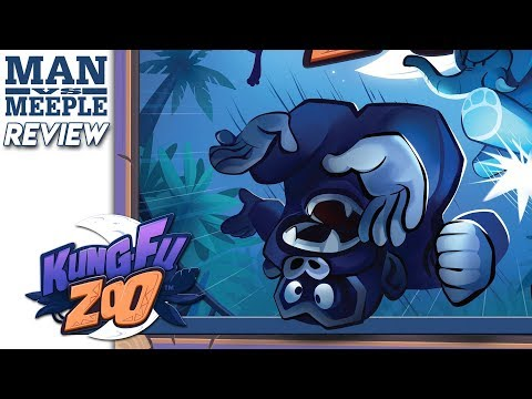 Kung Fu Zoo Review by Man Vs Meeple