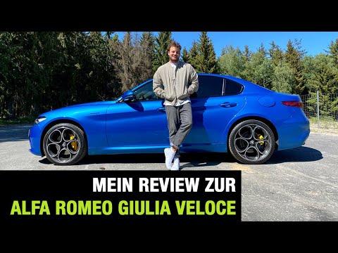 Alfa Romeo Giulia Facelift (2020) 💙🇮🇹 - Italienisch für Anfänger? Fahrbericht   Review   Test 🏁