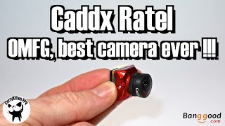 The Caddx Ratel. Is this the best FPV camera available? Supplied by Banggood