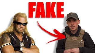 Man PRETENDS to be a Cop on Youtube (Patty Mayo Fake)