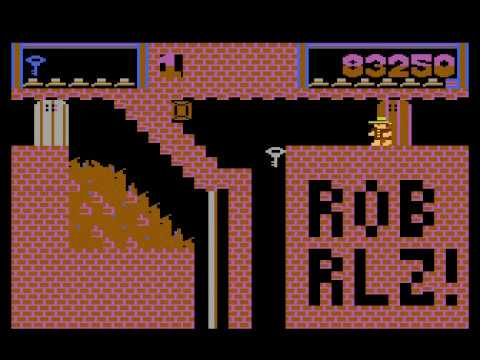 Montezuma Again! Final Version [Longplay] [atari 8bit]
