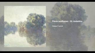 Pièces posthumes