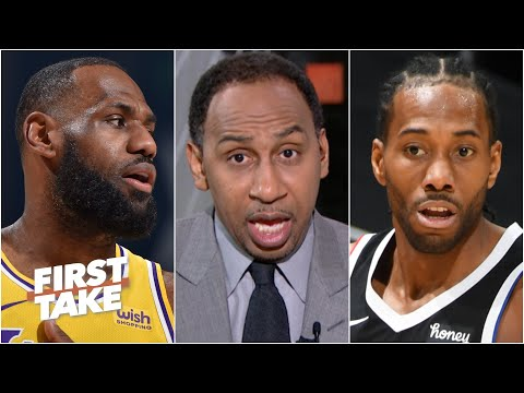 Stephen A. puts pressure on Kawhi to beat LeBron: 'I can't let Kawhi off the hook' | First Take