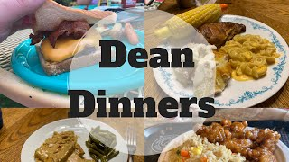 #whatsfordinner || Dean Dinners || Weekly Meal Ideas