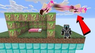 Minecraft: FAKE MINECRAFT LUCKY BLOCK BEDWARS! - Modded Mini-Game
