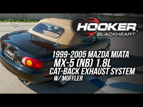 1999-2005 Mazda Miata NB 1.8l Cat-Back Exhaust System