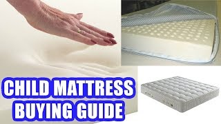 How to Choose the Best Mattress for A Child | Kids Mattress Buying Guide