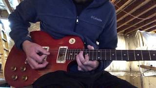 Tom Petty and the Heartbreakers - Billy The Kid (guitar solo cover)