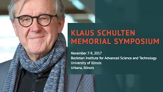 Thumbnail of Klaus Schulten Memorial Symposium - Session 4 video