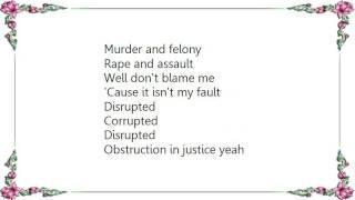Chronic Future - Obstruction Lyrics