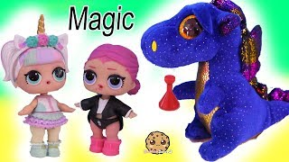 Potion Party ! Big Sister LOL Surprise Halloween Magic Spell Play Video