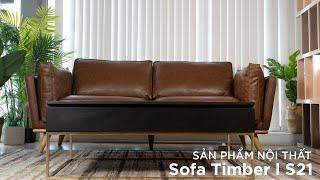 [Decox.vn] Sofa Timber – S21