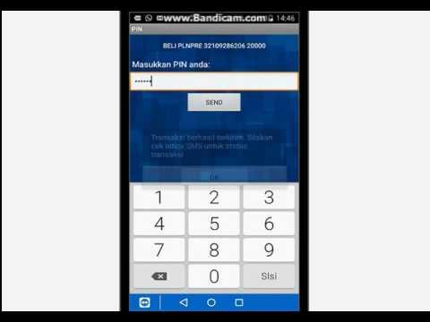 Cara Beli token listrik via Bri Mobile
