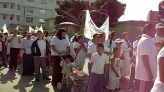 preview picture of video 'MARCHA PARA JESUS, ROSARITO MEXICO, 08/AGO/2009'