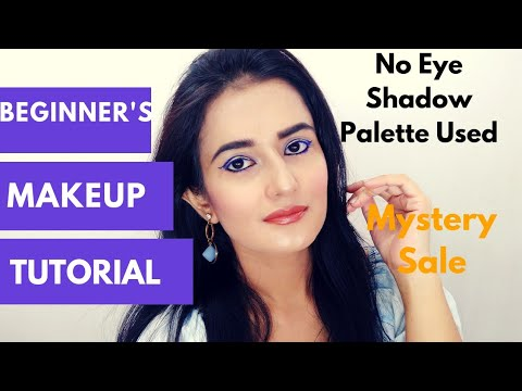Beginner's Makeup Tutorial | No Eyeshadow Palette Used | Mystery Sale | SWATI BHAMBRA