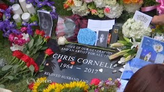 Brad Pitt <b>Courtney Love</b> Among Mourners At Chris Cornell Funeral