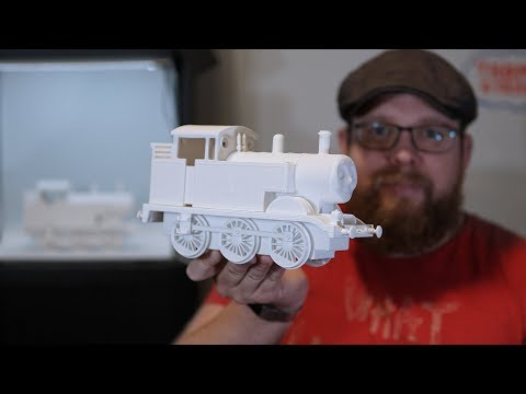 Giveaway - Large 3D Printed Thomas the Tank Engine (ended)