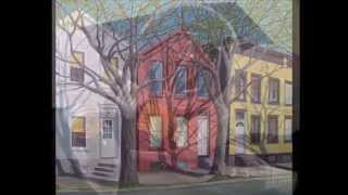 preview picture of video 'Small American City, Paintings of SCHENECTADY, NY by KENNETH HAWKEY'