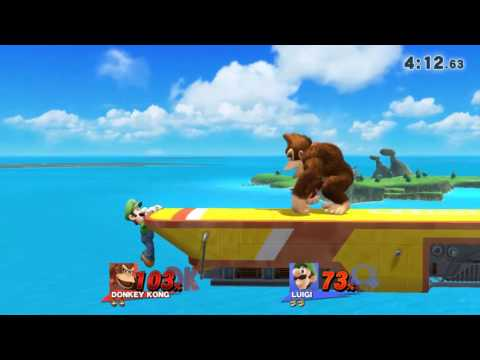 DUNKEY KONG (Smash bros 4)