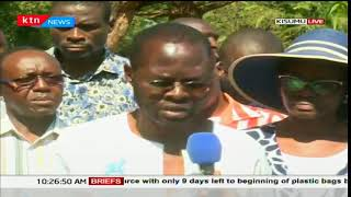 Kisumu governor-elect Anyang' Nyong'o issues statement on post poll violence