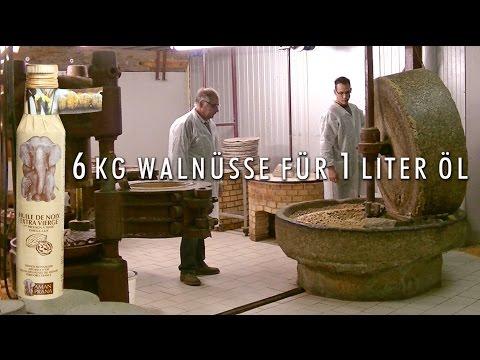 Walnüsse aus dem Périgord ergeben das köstlichste Walnussöl
