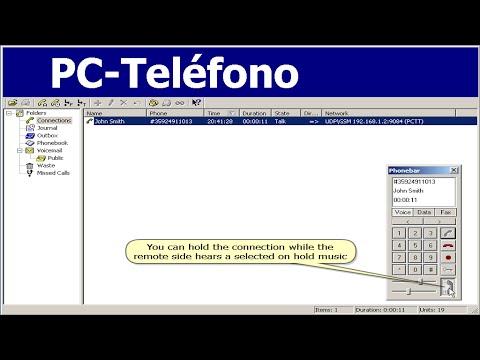Llamadas Baratas de software PC-Teléfono grabación VoIP RDSI Tutorial