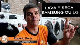 396 - SAMSUNG OU LG QUAL LAVA E SECA COMPRAR #VIDEO1  // WHATS (11) 94116-1466