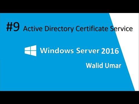 #9 Installasi & Konfigurasi Active Directory Certificate Service ...